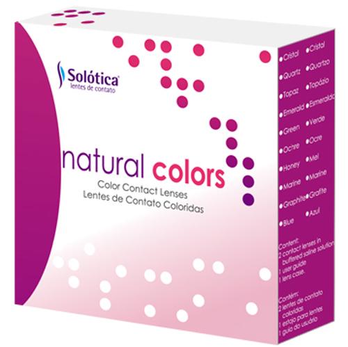 لنز رنگی طبی نچرال Soletica